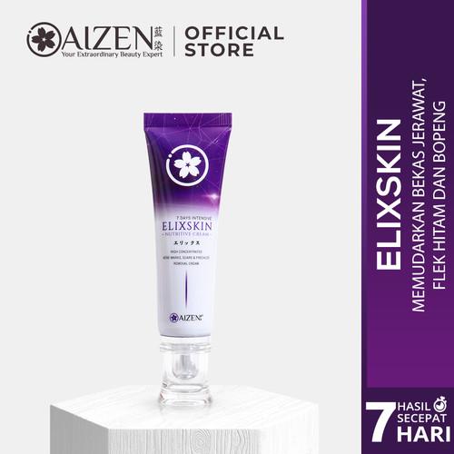 Foto Produk Aizen Elixskin - Cream Penghilang Bopeng Paling Ampuh & Cepat - Bekas Jerawat dari Aizen Official Store