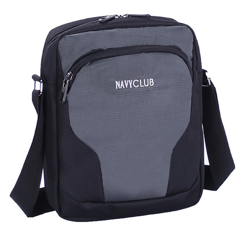 Foto Produk Navy Club Tas Selempang IJB Tablet Ipad Up to 10 Inch - Tas Pria - Abu-abu dari Navy Club Official Store