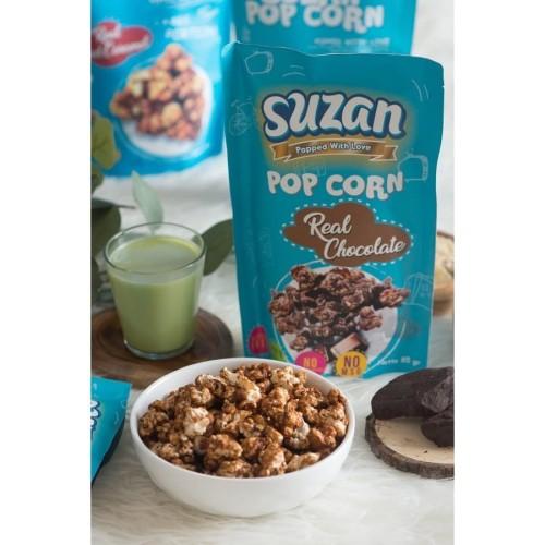 Foto Produk Suzan Popcorn Real Chocolate 85 Gr dari BetterPop Popcorn