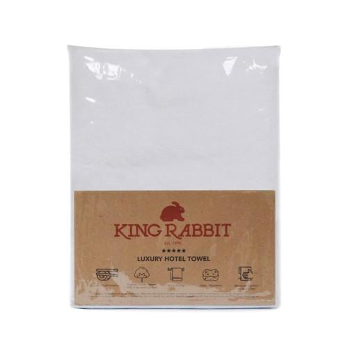 Foto Produk King Rabbit Premium Hotel Towel / Handuk Mandi ukuran 70x140 cm White dari King Rabbit Official
