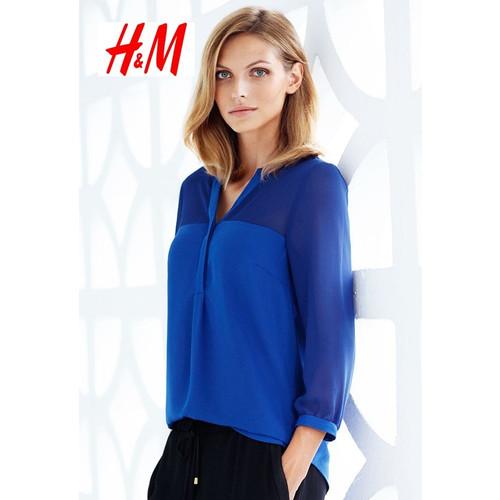Foto Produk Blouse Wanita Biru - H&M Original 100% - 32, Biru dari kenso collection