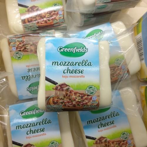 Foto Produk GreenFields Mozzarella Cheese 200g dari cubeecubee