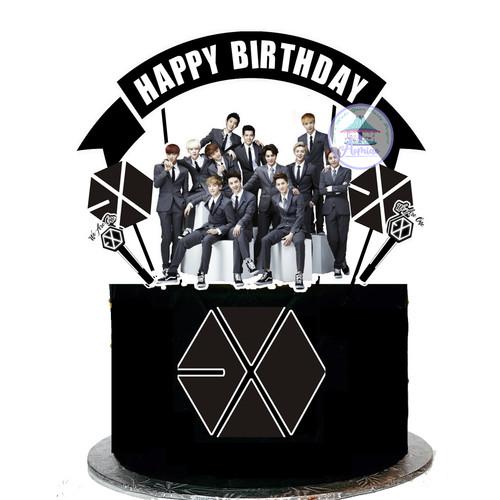Foto Produk Cake Topper KPOP EXO dari Aomiao