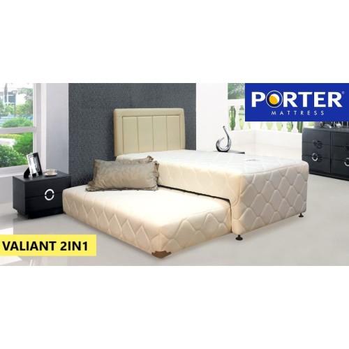 Foto Produk Kasur Springbed PORTER - 2IN1 VALIANT - 100 x 200 dari PORTER Mattress