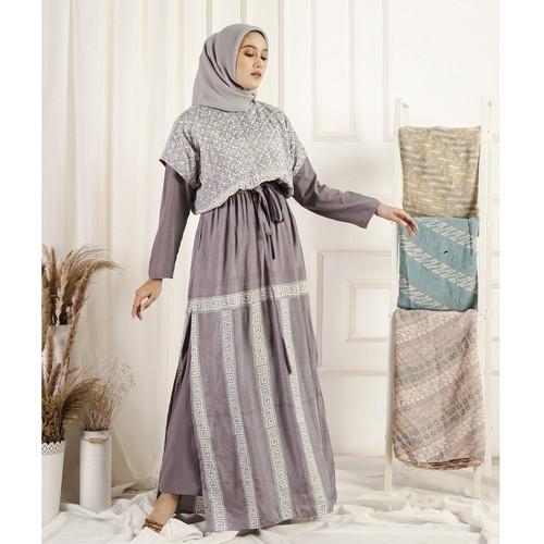 Foto Produk Gaun Cindy dari Qonita Batik Official