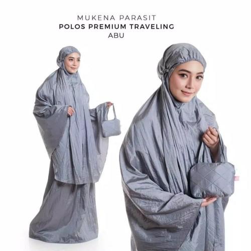 Foto Produk MUKENA DEWASA TRAVELING PARASIT POLOS ABU dari Pusat Mukena Indonesia
