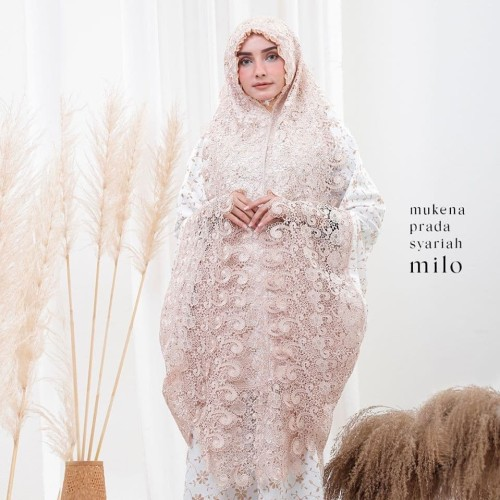 Foto Produk MUKENA PRADA SYARIAH MILO DEWASA dari Pusat Mukena Indonesia