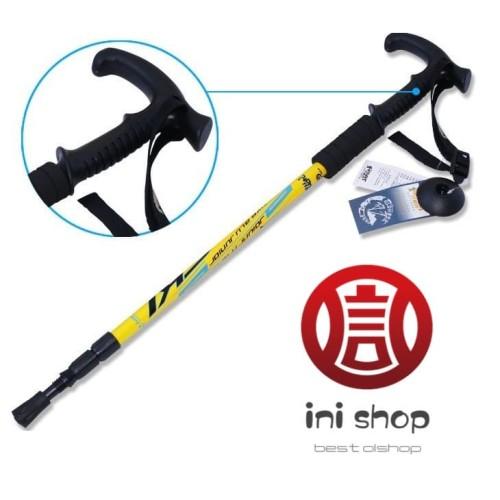 Foto Produk tongkat bantu jalan- Alpenstock Walking Pole Cane Stick Crutch dari ini-shop