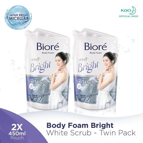 Foto Produk BIORE Body Foam White Scrub 450 ml - 2pcs dari KAO Official Store