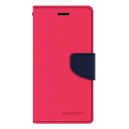 Foto Produk [FLASH SALE] Goospery Fancy Diary Wallet Case For All Type Handphone - Hotpink Navy dari Goospery Indonesia