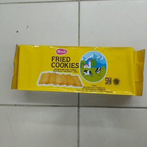Foto Produk Monde Fried Cookies 200g dari cubeecubee