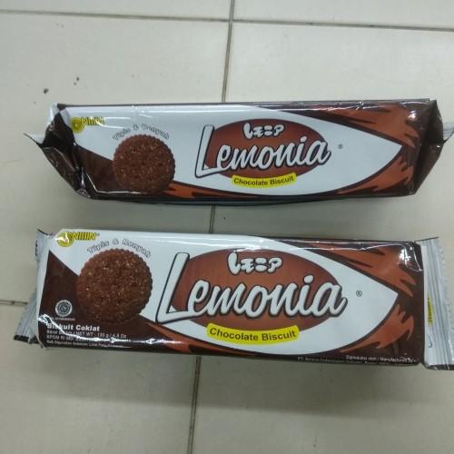 Foto Produk Nissin Lemonia Chocolate Biscuit 130g dari cubeecubee