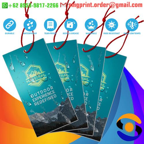 Jual Hang Tag Plastik Anti Sobek Air Hangtag Price Tag Label Harga Produk Jakarta Selatan Smg Printing Tokopedia