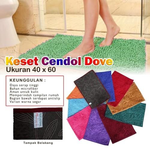 Foto Produk KESET CENDOL DOFF 40X60 - Merah dari pede mall