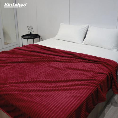 Foto Produk Selimut Lembut & Mewah Kintakun Luxury 190x210cm Colourfull - Random - Asmirandah dari Kintakun Sprei Bedcover