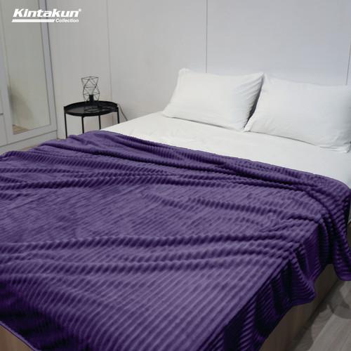 Foto Produk Selimut Lembut & Mewah Kintakun Luxury 190x210cm Colourfull - Random - Cheryl dari Kintakun Sprei Bedcover