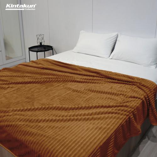 Foto Produk Selimut Lembut & Mewah Kintakun Luxury 190x210cm Colourfull - Random - Brighton dari Kintakun Sprei Bedcover