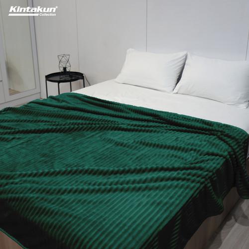 Foto Produk Selimut Lembut & Mewah Kintakun Luxury 190x210cm Colourfull - Random - Aiden dari Kintakun Sprei Bedcover