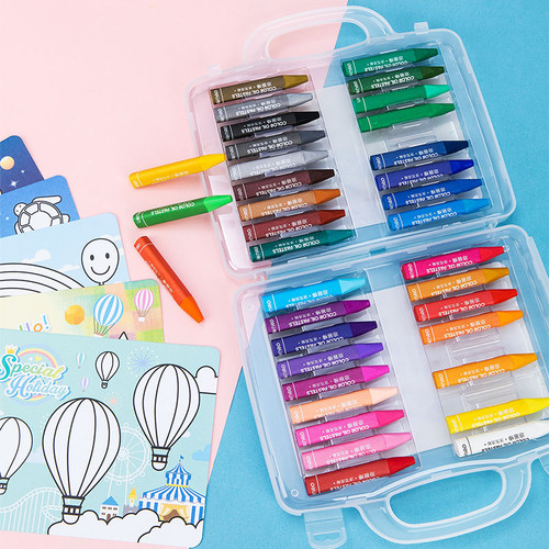 Foto Produk Deli 72070 School Crayon - 12 color 72070 dari Deli Stationery