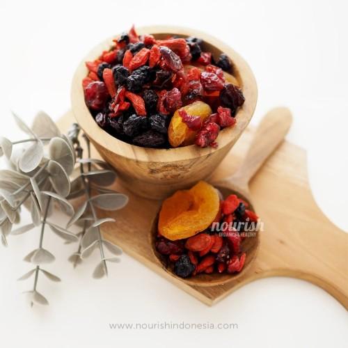 Foto Produk Fruit Delight (Campuran Buah Kering) 250 gr dari Nourish Indonesia