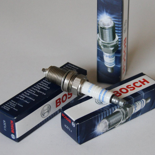 Foto Produk Busi BMW E36 E39 M43 M50 M52 Spark Plug BOSCH F7LDCR Made In RUSIA dari Indo Utama Otoparts