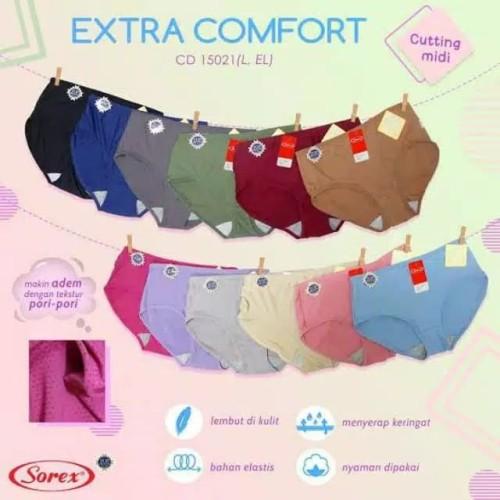 Foto Produk celana dalam wanita extra comfort sorex 15021 - Random, L dari MMcollections mom&kids