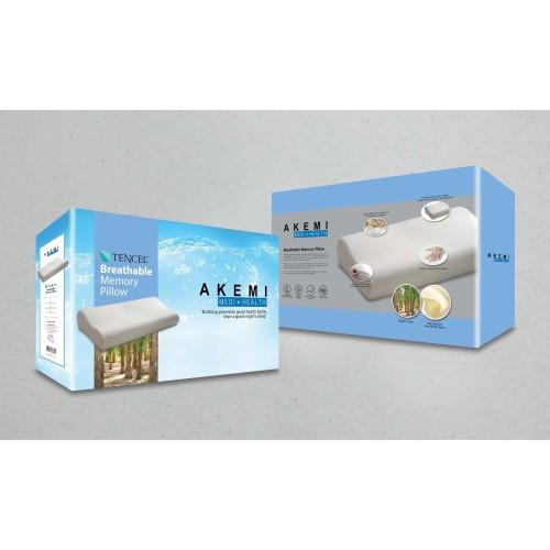 Foto Produk Akemi Medi+Health Tencel Breathable Memory Foam Pillow dari AKEMI OFFICIAL STORE