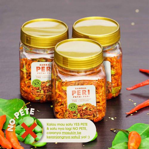 Foto Produk Sambal PERI (Petai Teri) Medan 75G - NO PETE dari Jens Kitchen