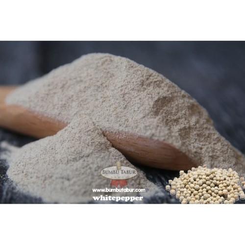 Foto Produk BUMBU WHITEPEPER LADA PUTIH BUBUK KEMASAN 1 KG FOOD GRADE dari OmaEmi Surabaya