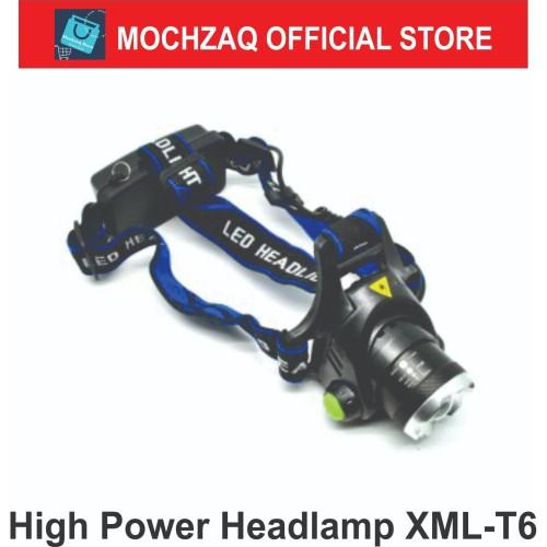 Foto Produk TaffLED High Power Headlamp 1 LED Cree XML-T6 - HD-LD - Black dari Mochzaq Store