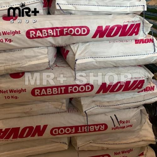 Foto Produk MAKANAN KELINCI PELET NOVA RABBIT FOOD KEMASAN REPACK 1 KG dari MR+ SHOP