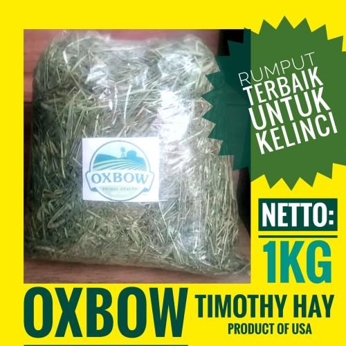 Foto Produk OXBOW TIMOTHY HAY, RUMPUT TERBAIK UNTUK KELINCI, impor dari Amerika dari KHAEL RAJA