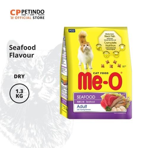 Foto Produk CPPETINDO Me-O Seafood Adult Cat Food 1,2 kg dari CPPETINDO