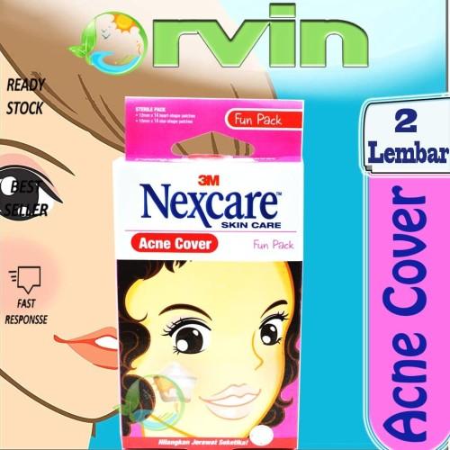 Foto Produk Nexcare Acne Cover Fun Pack / Obat Jerawat / Penghilang Jerawat dari Orvin Health & Beauty