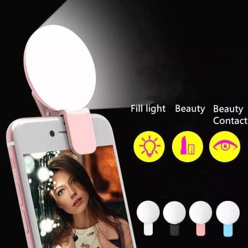 Foto Produk Ring Light Mini Q Selfie Light Mini Q Selfie Lamp Ring Light Portable dari gooogshop