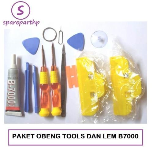 Foto Produk Paket Obeng tools Lem cair dan Penjepit LCD Touchscreen Murah Banget dari SPAREPARTHP