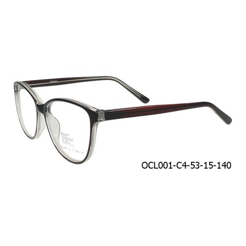 Foto Produk OCCHIALI Frame Kacamata Wanita Formal (OCL001) Semi Transparant - Shiny Brown dari Optik Internasional Official