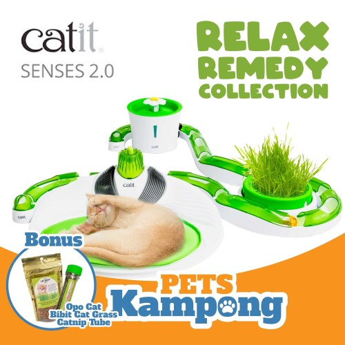 Foto Produk Catit Sense 2.0 Relax Remedy Collection Set dari Pets Kampong