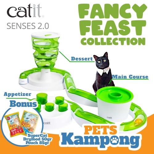 Foto Produk Catit Sense 2.0 Fancy Feast Collection Set dari Pets Kampong