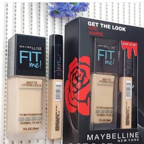 Foto Produk Maybelline Vivid Vampire 2in1 Fit Me+Poreless dari Key_Logistic_Shop