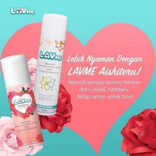 Foto Produk Lavme Anti Bacterial Spray Disinfectant 250 ml Lemongrass Candy Aishit dari Jualindo KP