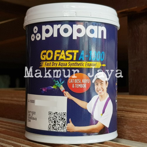 Foto Produk Go Fast A-1000 Cat Besi Kayu Water Based Propan - Black dari PD Makmur Jaya 38A