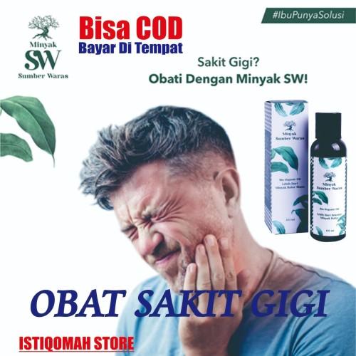 Foto Produk Obat Sakit Gigi Ampuh, Gigi Berlubang, Gusi Bengkak - Minyak SW dari Istiqomah-Store