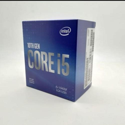 Foto Produk Processor INTEL - CORE I5 10400F Comet Lake-S LGA 1200 6 Core Gen10 dari t_pedia pc