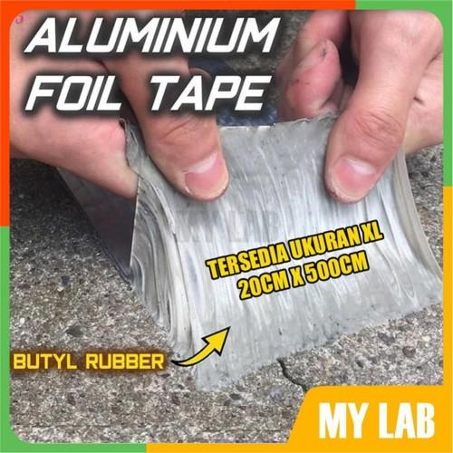 Foto Produk Lakban Alumunium Foil Tape Tahan Air Bocor Atap - KECIL 5CM x 3M dari MyLab
