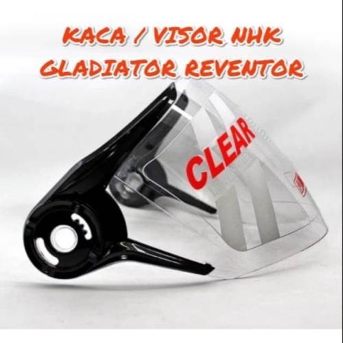 Foto Produk kaca helm nhk gladiator harga grosir - bening dari DISTRIBUTOR-JAS HUJAN