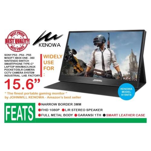 Foto Produk Portable Monitor 15.6 Inch USB-C - Full HD - IPS PANEL KENOWA K15NTS dari EtalaseBelanja