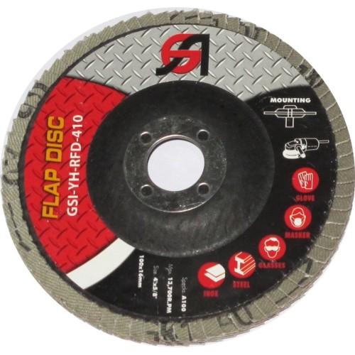 """Foto Produk GSI Amplas Susun 4"""" Flap Disc 4"""" / 100mm - Grit 220 dari MST Official"""