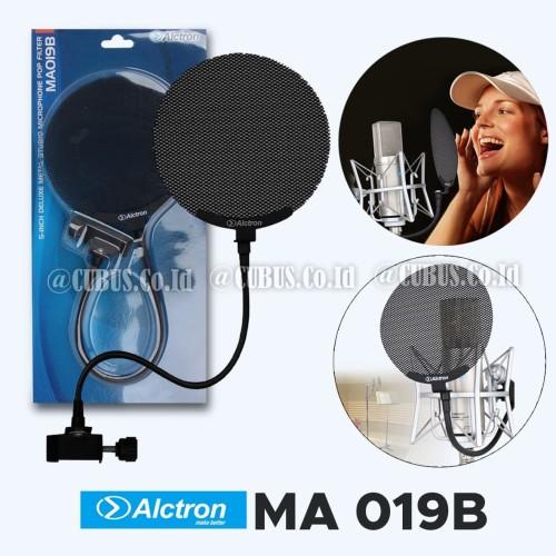Foto Produk Alctron MA019B 5-Inch Deluxe Metal Studio Micrphone Pop Filter dari Cubus_Co_ID