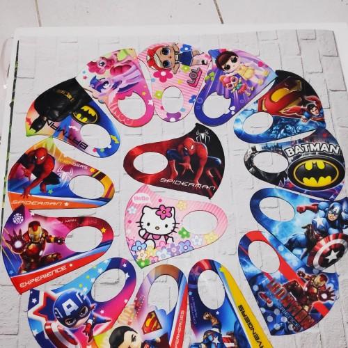 Foto Produk Masker Scuba Anak Digtital printing Gramasi 270-280 + free plastik - COWOK dari Grosirmasker168
